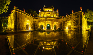 Visit the Hanoi Imperial Citadel for a 'humble' price