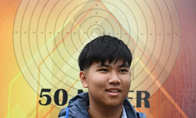 Thailand's 14-year-old shooting prodigy aims for World Cup gold