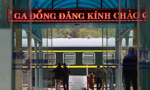 Dong Dang railway station shuts down for upcoming Trump-Kim summit