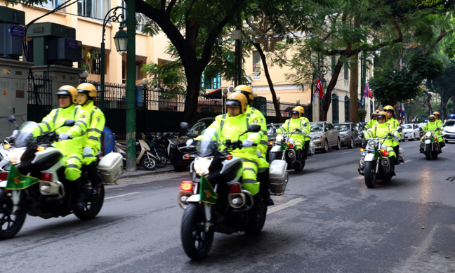 Hanoi blocks streets, restricts vehicles for Trump-Kim summit