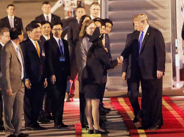 US President Donald Trump tweets thanks for Hanoi reception
