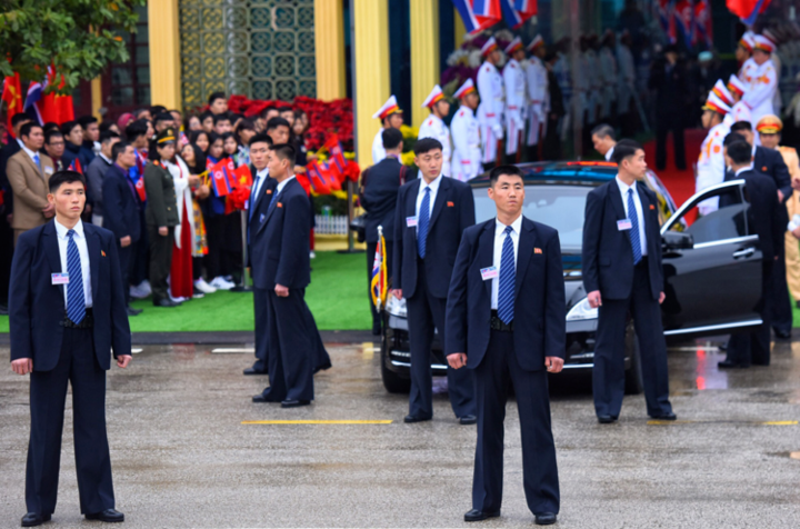 Candidates to be bodyguards are screened by a family history verification process spanning two generations.Photo by VnExpress/Huu Khoa-Giang Huy