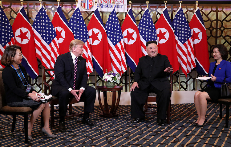 US, North Korean leaders display bonhomie at historic Hanoi summit - 2