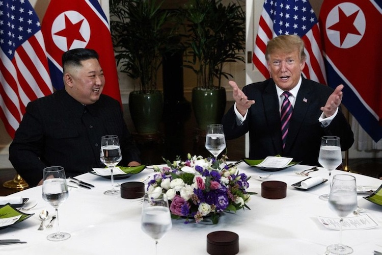 Trump-Kim dinner a cordial affair - 1