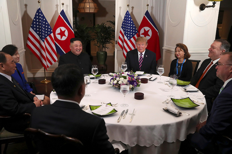 US, North Korean leaders display bonhomie at historic Hanoi summit - 5