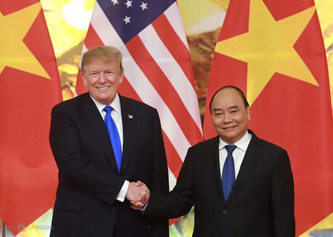 US seeks increased trade, investment ties with Vietnam: Trump