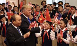 US President Trump praises Vietnam's economic achievements