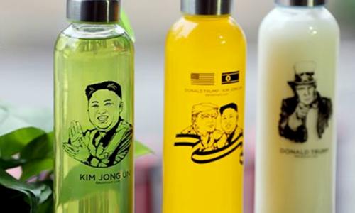 Trump-Kim summit souvenirs sell like hot cakes
