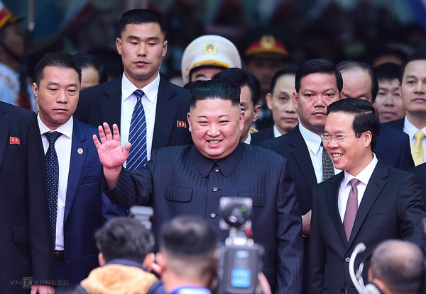 Kim Jong-un starts two-day official visit to Vietnam