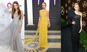 Three celebrities choose Cong Tri designs for Oscar 2019 party