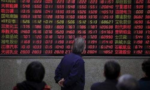 Global stocks fall on China weakness, tempered trade hopes
