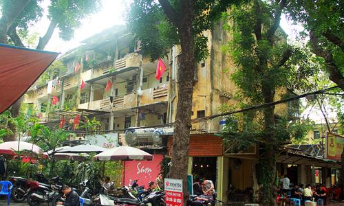 Venerated apartment complex in Hanoi a North Korean inspiration