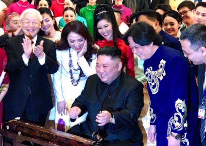 North Korean leader enamored of Vietnamese traditional music, wins artistes' hearts