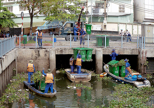 HCMC to spend $1.2 million on canal clean-up