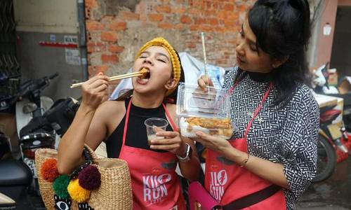 Hanoi KiloRun proves to be a foodie's delight