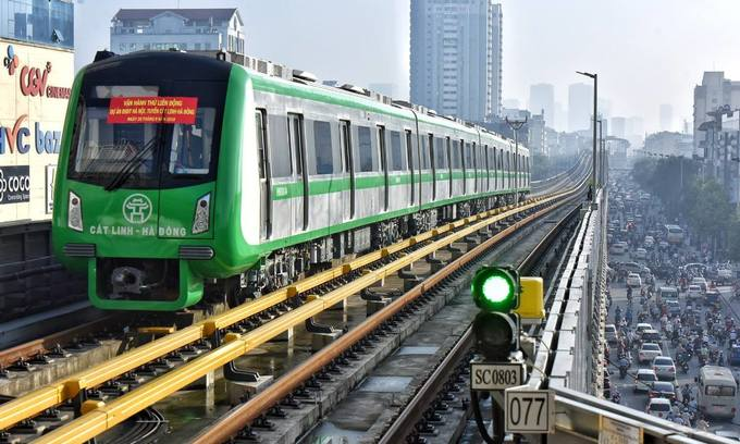 ​Hanoi metro fares initially capped at 65 US cents
