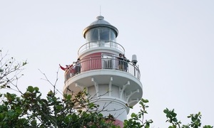 Lighthouse with a unique name on the coast of Quang Ngai