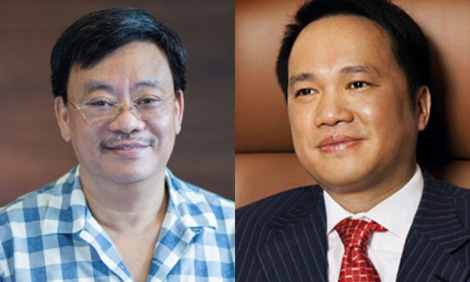 Nguyen Dang Quang (L) and Ho Hung Anh enters 2019 Forbes billionaire list for the first time. Photo (L) courtesy of Forbes Vietnam and (R) acquired by VnExpress.