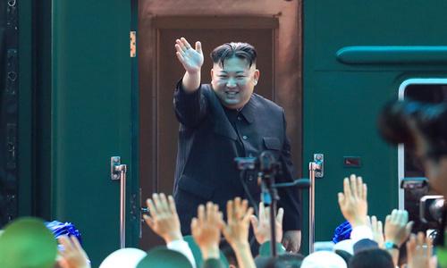 N. Korea's Kim arrives home after Trump summit: state media