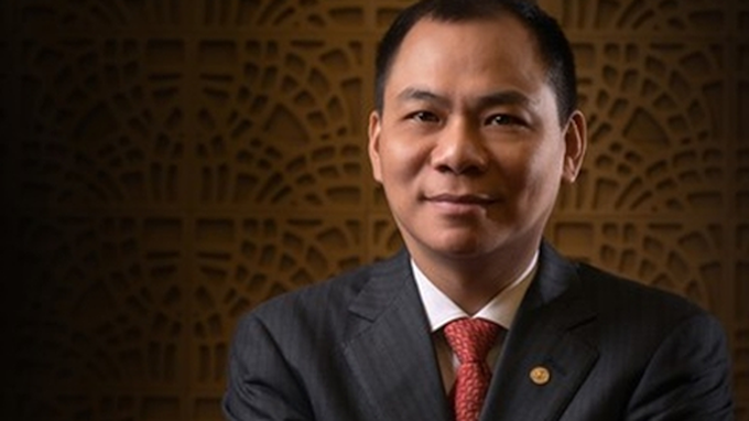 Pham Nhat Vuong remains the richest person in Vietnam. Photo acquired by VnExpress