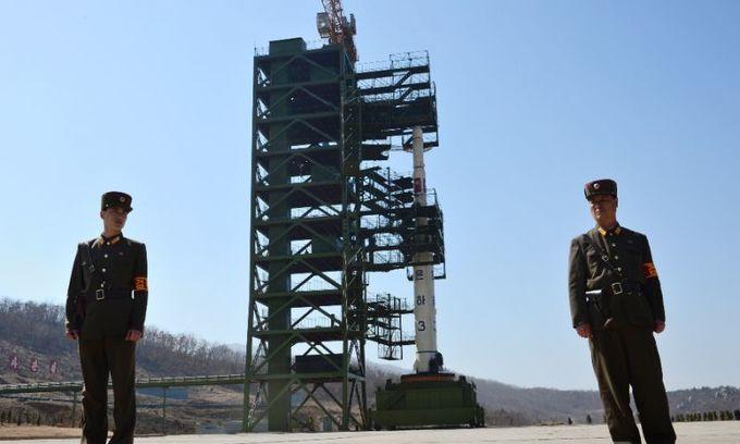 Pyongyang 'rebuilding' main satellite launch site, photos show