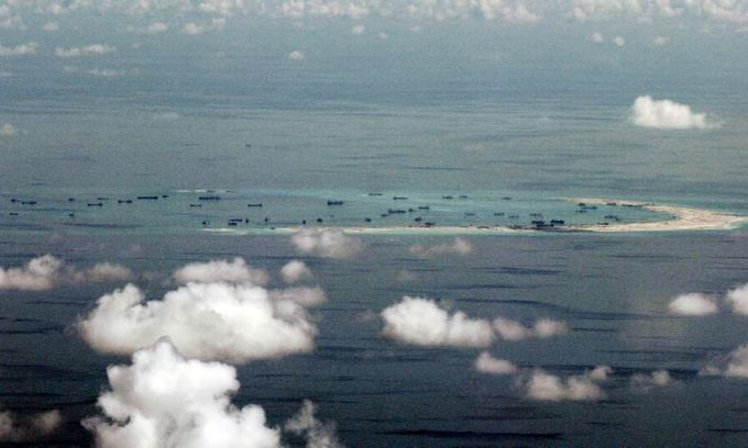 Chinese ship sinks Vietnamese fishing boat off Paracel Islands