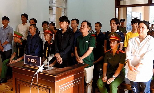 Vietnam jails 15 more for last year's SEZ protest