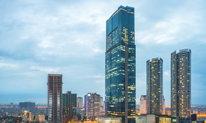 Hanoi office rental yield highest globally