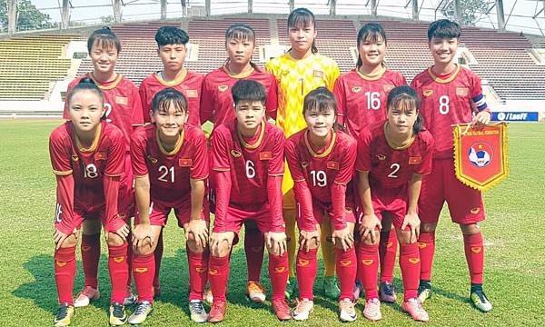 Vietnam U16 women set for AFC Championship debut