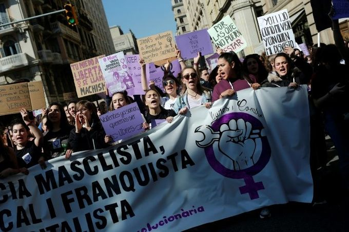 How the world is marking women's day