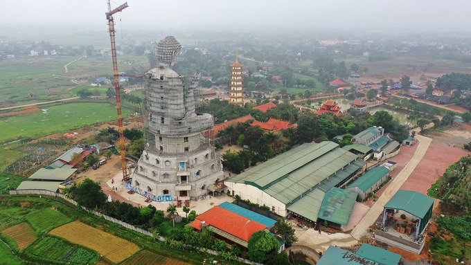 Gigantic Buddha to smile over Southeast Asia from Vietnam - 9
