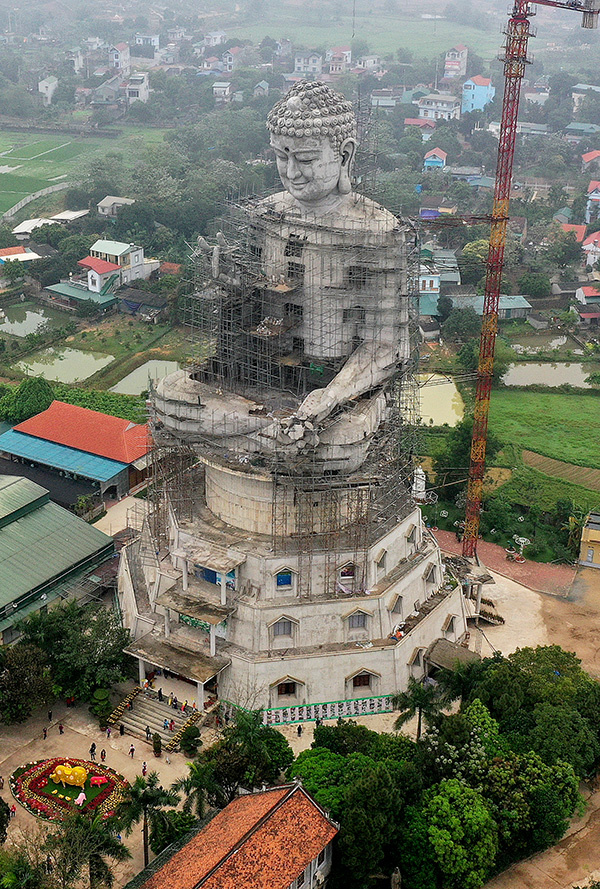 Gigantic Buddha to smile over Southeast Asia from Vietnam - 1