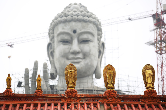 Gigantic Buddha to smile over Southeast Asia from Vietnam - 3