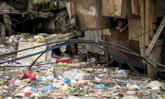 Philippines survey shows 'shocking' plastic waste