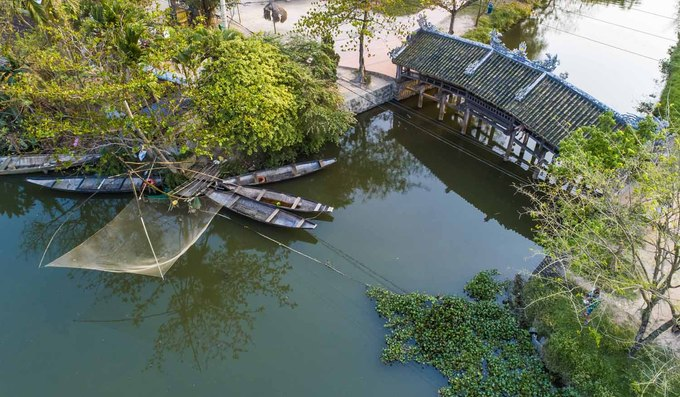 240-year-old bridge near Hue continues to enchant - 5