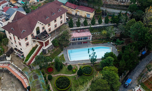A Da Lat villa complex quietly recounts history