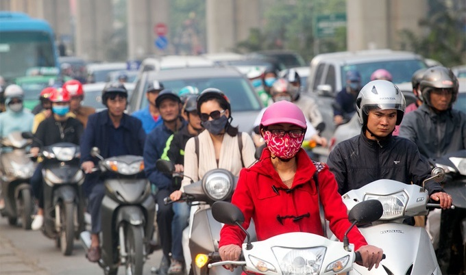 Hanoi to limit new motorbike registration from 2020