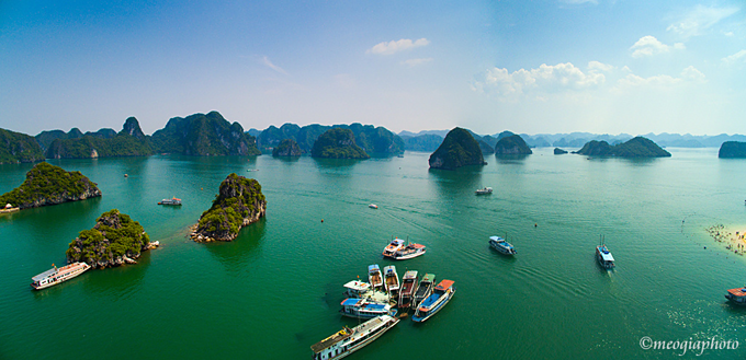 Ti Top Islet is much loved by many foreign tourists during a trip to Ha Long Bay. Photo by VnExpress/Meo Gia