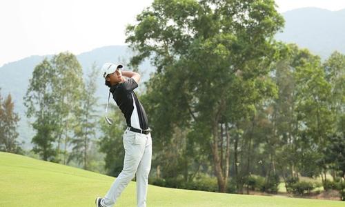 Vietnamese golfer top 10 finisher at Faldo Series first round