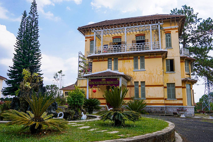 Da Lat mansion of the last empress of Vietnam