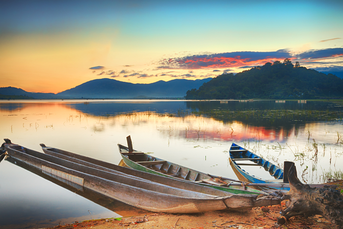 Central Highlands lake offers a Southeast Asian camping high