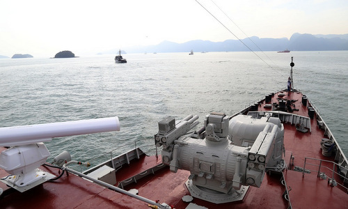 Vietnam naval ship in Malaysia for exhibition, drill