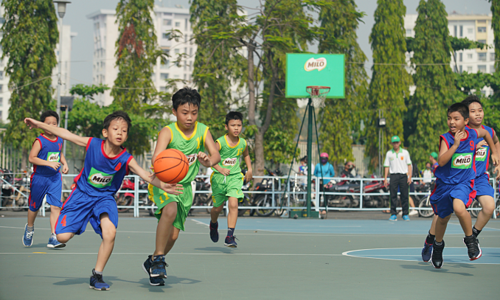 Milo marks 25 years of promoting sports among Vietnamese kids