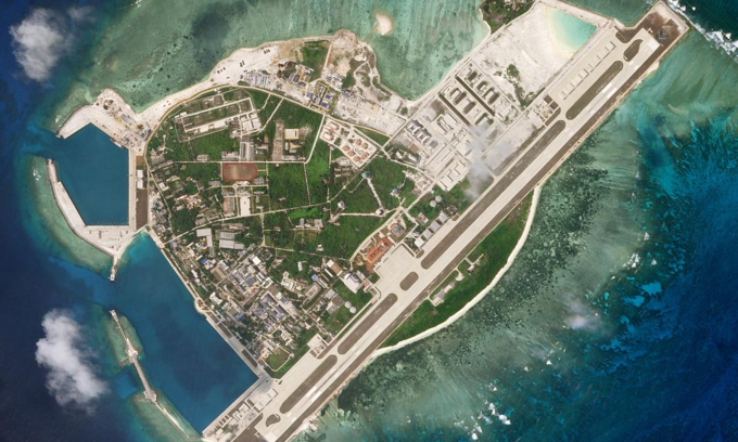Vietnam opposes China's live-fire drills, construction plans in South China Sea