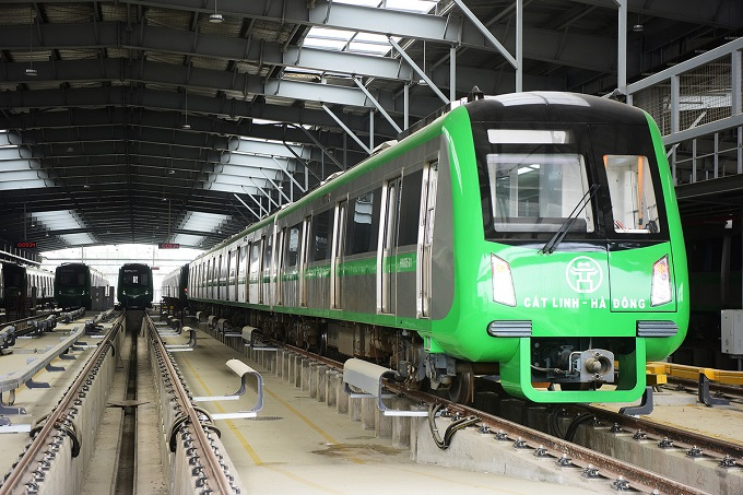 Hanoi metro stations in line for April launch