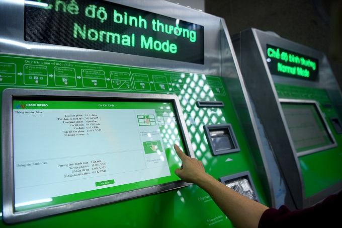 Hanoi metro stations in line for April launch - 3