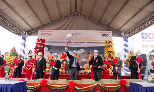 US firm begins construction of $170 mln aerospace parts factory in Vietnam