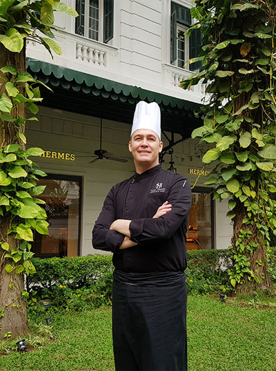 Chef Paul Smart has cooked for many politicians and celebrities.