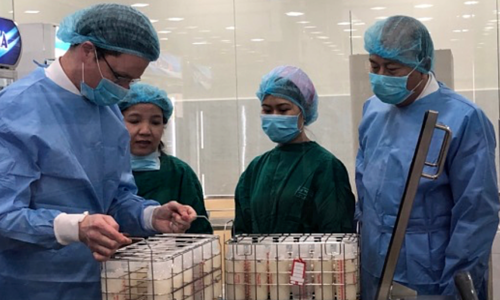 Saigon human milk bank gets first donor