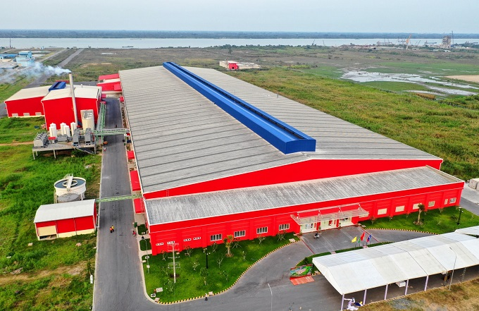 The first phase of the new plant in Hau Giang Province has begun operation with a capacity of 130 million liters a year.